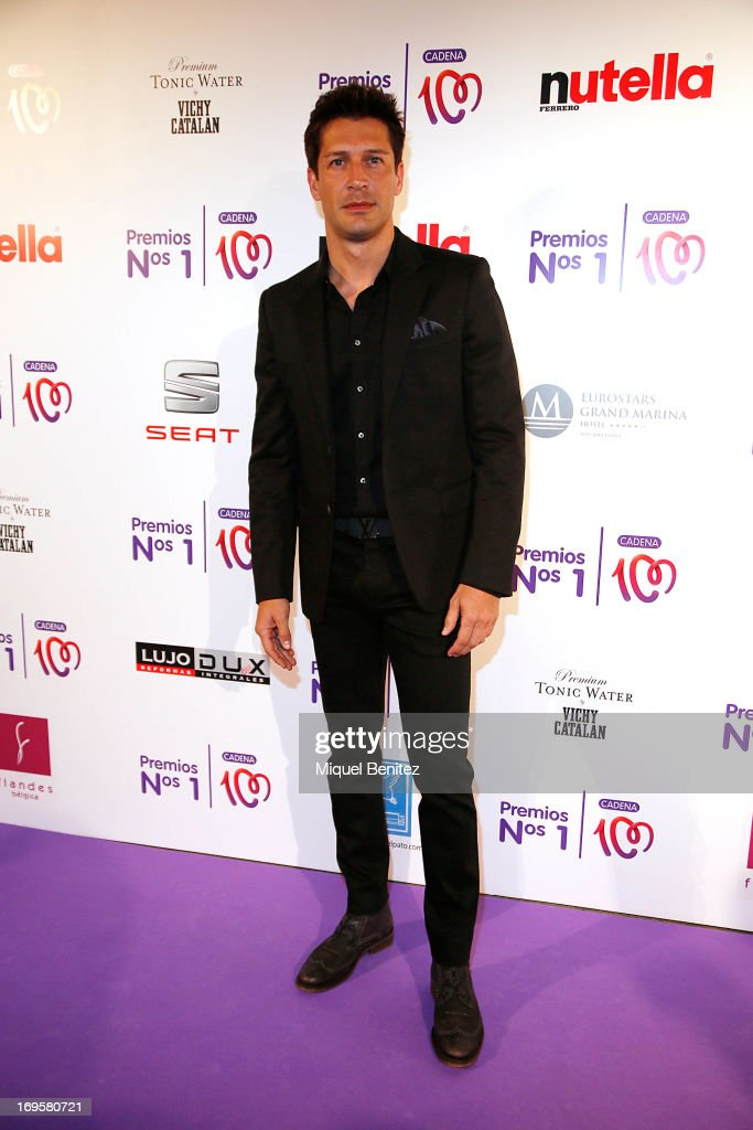 Jaime Cantizano poses at the photocall of 'Cadena 100 Number 1 Awards 2013' on May 27, 2013 in Barcelona, Spain.