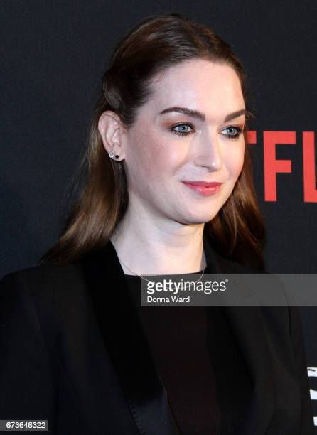 Jaime Clayton attends the 'Sense8' New York Premiere at AMC Lincoln Square Theater on April 26 2017 in New York City