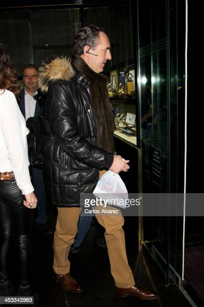 Jaime de Marichalar attends the 'Stars Charity' event at the Rabat Jewelry on December 3 2013 in Madrid Spain