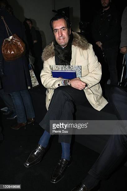 Jaime de Marichalar during Paris Fashion Week Haute Couture Spring/Summer 2007 Givenchy Front Row at Ateliers Berthier in Paris France
