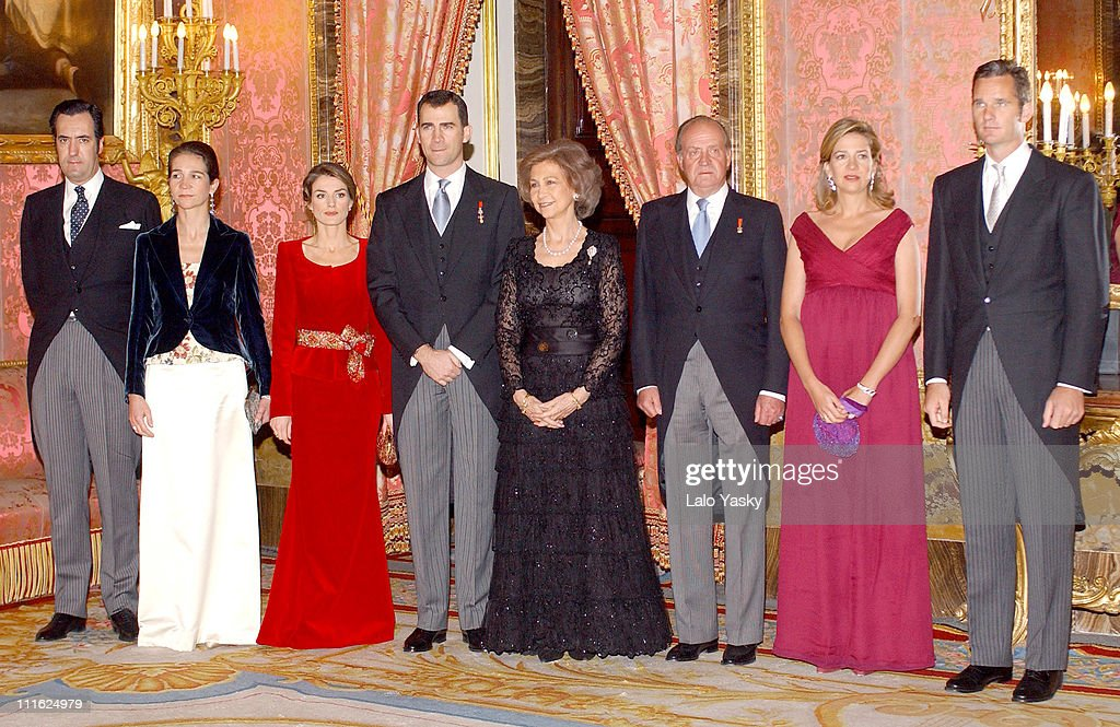Spanish Royal Family Receives Foreign Ambassadors in Spain