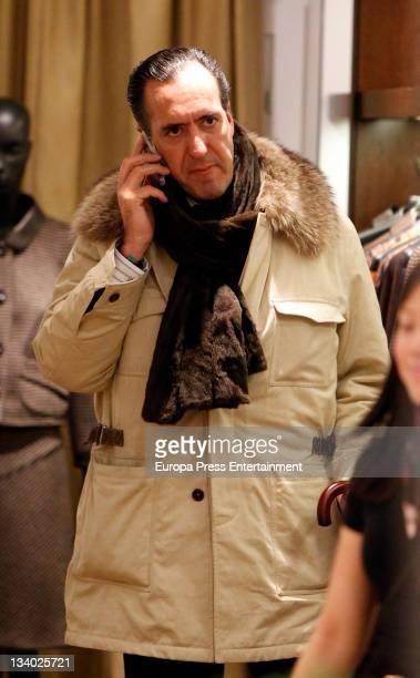 Jaime de Marichalar is seen on the phone on November 23 2011 in Madrid Spain