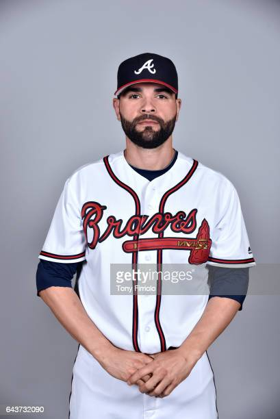 Jaime Garcia of the Atlanta Braves poses during Photo Day on Tuesday February 21 2017 at Champion Stadium in Lake Buena Vista Florida