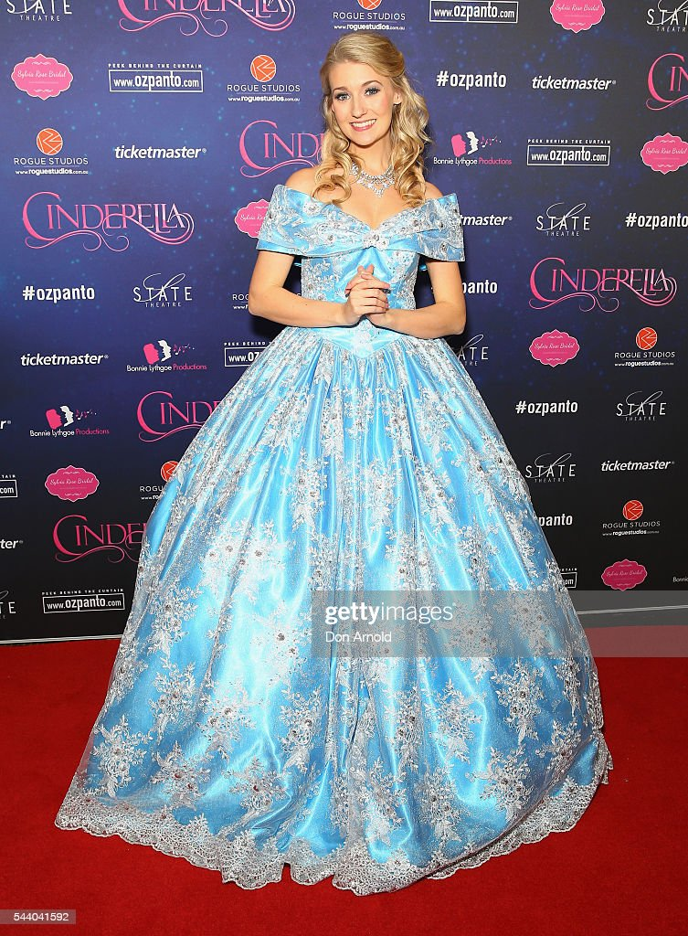 Jaime Hadwen arrives ahead of opening night of Cinderella at State Theatre on July 1, 2016 in Sydney, Australia.