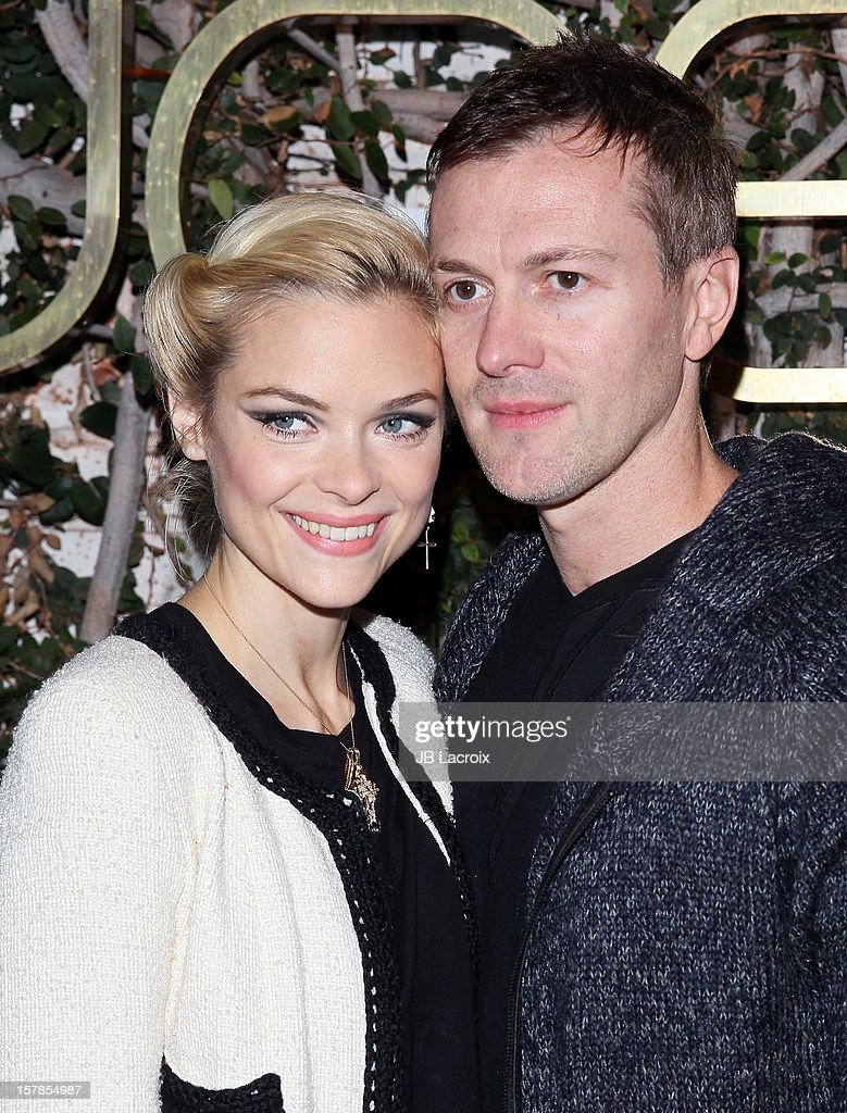 Jaime King and Kyle Newman are seen on December 6, 2012 in Los Angeles, California.