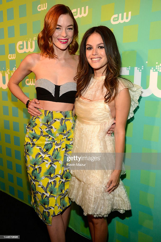 Jaime King and Rachel Bilson attend the CW Network's 2012 Upfront at The London Hotel on May 17, 2012 in New York City.