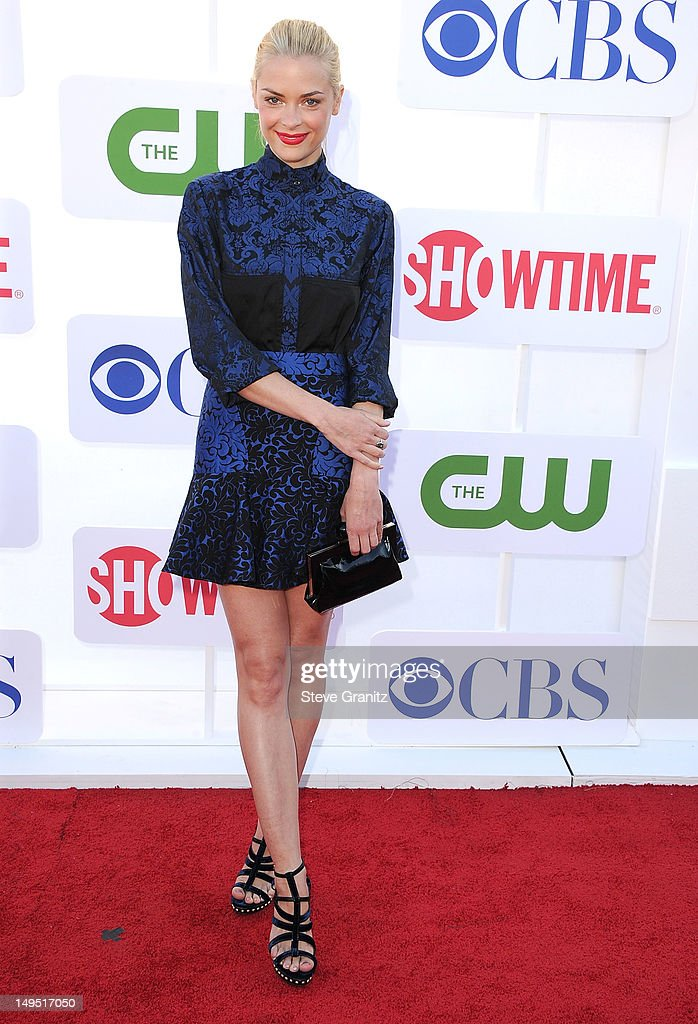 Jaime King arrives at the 2012 TCA Summer Tour CBS Showtime And The CW Party at 9900 Wilshire Blvd on July 29 2012 in Beverly Hills California