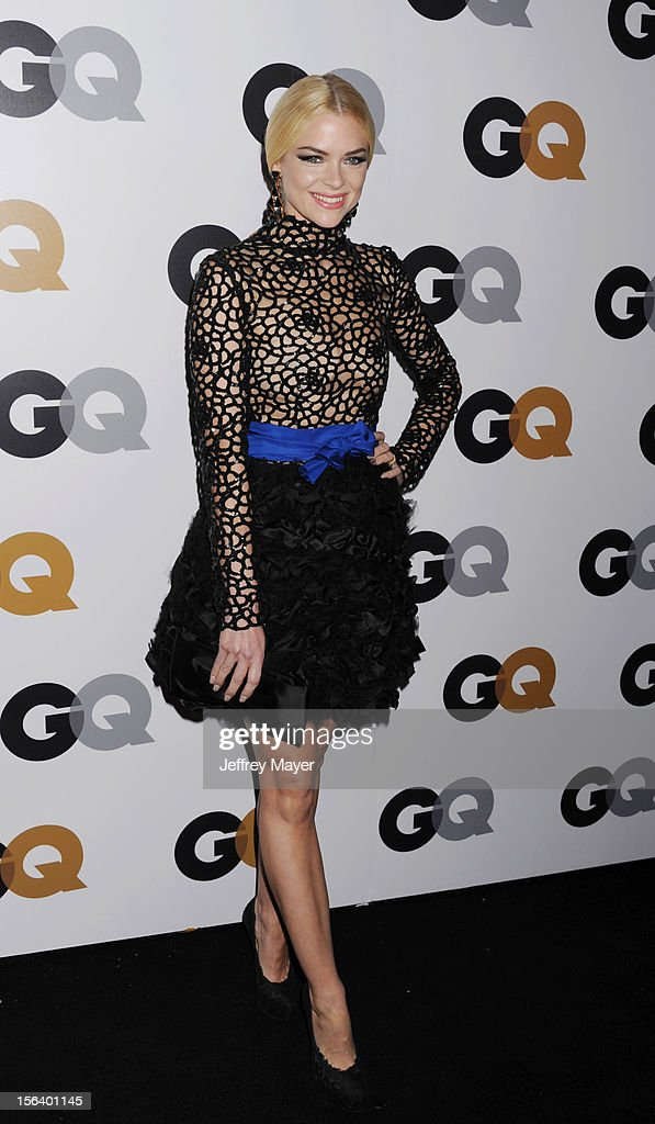 Jaime King arrives at the GQ Men Of The Year Party at Chateau Marmont Hotel on November 13, 2012 in Los Angeles, California.