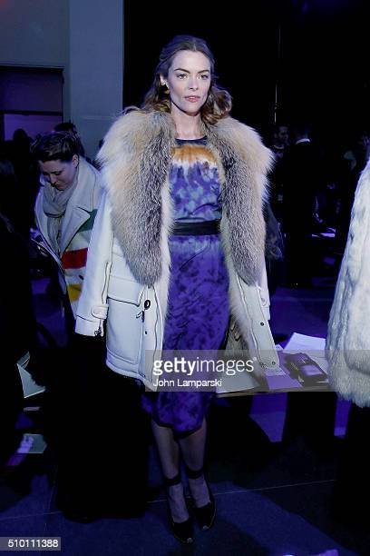 Jaime King attends Altuzarra show during the Fall 2016 New York Fashion Week on February 13 2016 in New York City