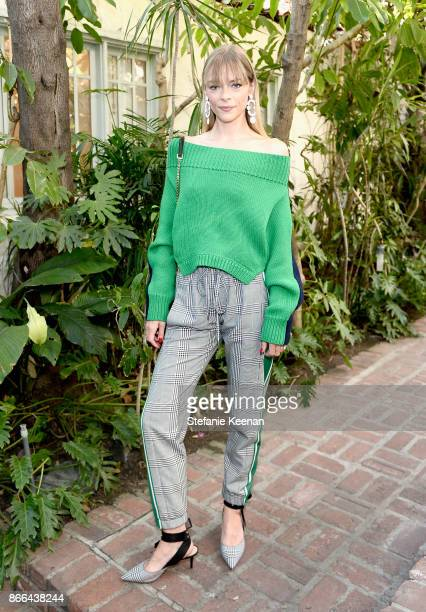 Jaime King attends CFDA/Vogue Fashion Fund Show and Tea at Chateau Marmont at Chateau Marmont on October 25 2017 in Los Angeles California