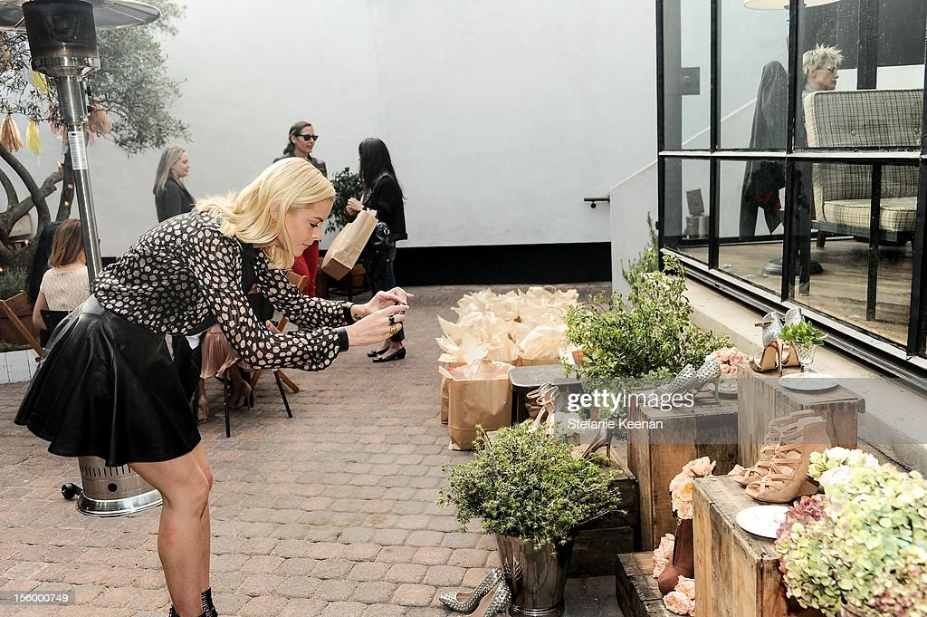 Jaime King attends ShoeMint Celebrates 1 Year Anniversary With Rachel Bilson And Nicole Chavez at Laurel Hardware on November 10, 2012 in West Hollywood, California.