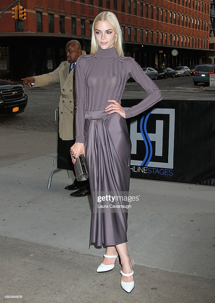 Jaime King attends the 2014 Young Friends Of ACRIA Summer Soiree at Highline Stages on June 11, 2014 in New York City.