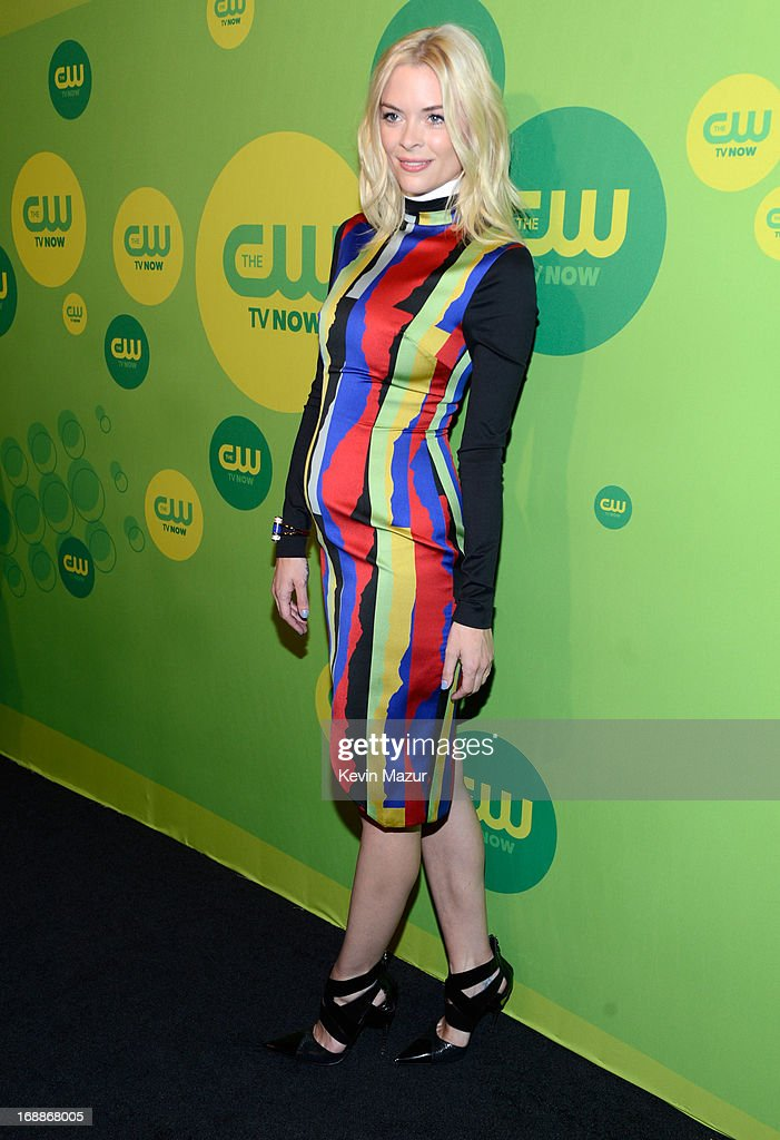 <a gi-track='captionPersonalityLinkClicked' href=/galleries/search?phrase=Jaime+King+-+Actress&family=editorial&specificpeople=206809 ng-click='$event.stopPropagation()'>Jaime King</a> attends the CW Network's 2013 Upfront at The London Hotel on May 16, 2013 in New York City.
