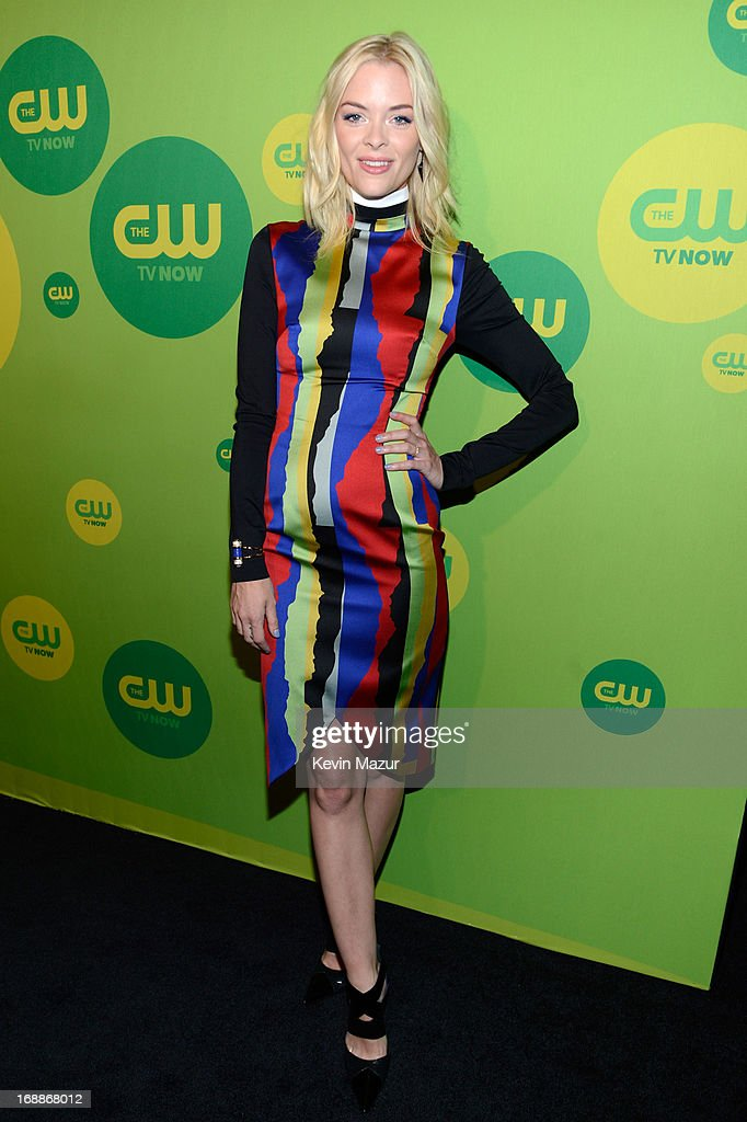 <a gi-track='captionPersonalityLinkClicked' href=/galleries/search?phrase=Jaime+King+-+Attrice&family=editorial&specificpeople=206809 ng-click='$event.stopPropagation()'>Jaime King</a> attends the CW Network's 2013 Upfront at The London Hotel on May 16, 2013 in New York City.