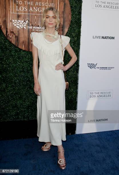 Jaime King attends the Humane Society's annual 'To The Rescue' Gala on April 22 2017 in Los Angeles California