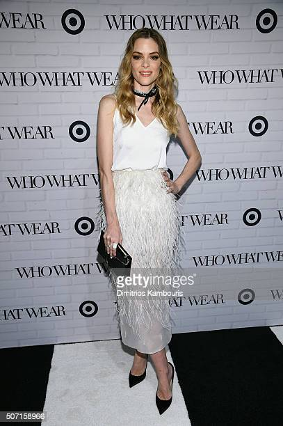 Jaime King attends Who What Wear x Target launch party at ArtBeam on January 27 2016 in New York City