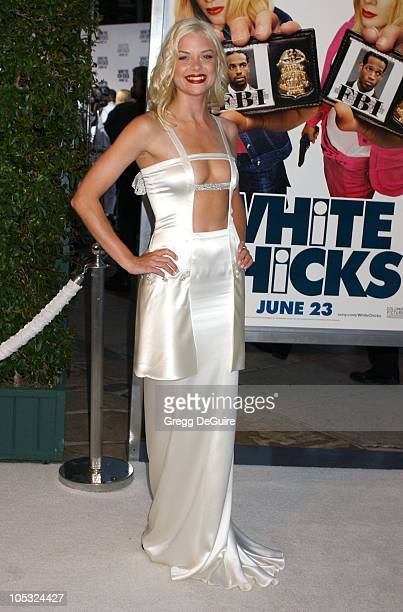Jaime King during 'White Chicks' Premiere at Mann Village Theatre in Westwood California United States