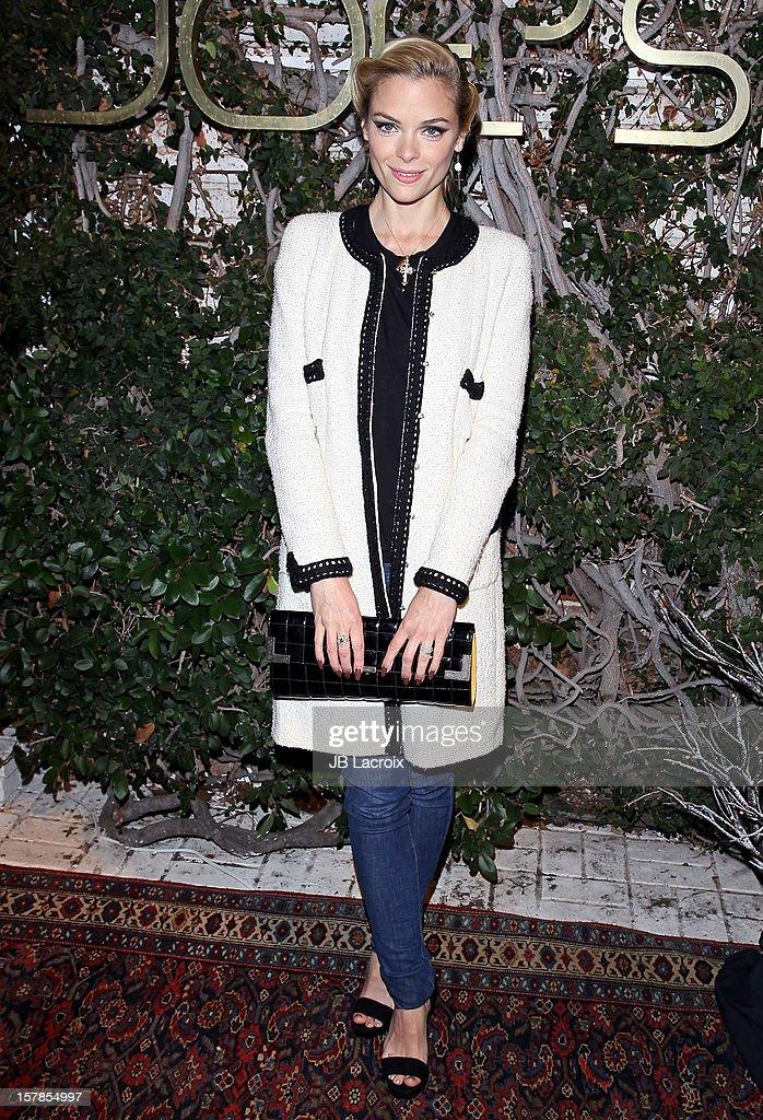 Jaime King is seen on December 6, 2012 in Los Angeles, California.
