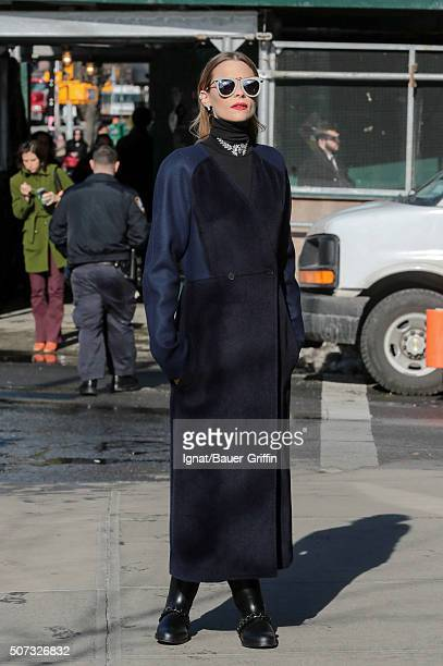 Jaime King is seen on January 28 2016 in New York City