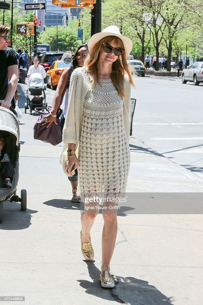 Jaime King is seen on May 07 2015 in New York City