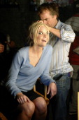 Jaime King on the set of the video for Chariot the title track from DeGraw's platinumselling debut album
