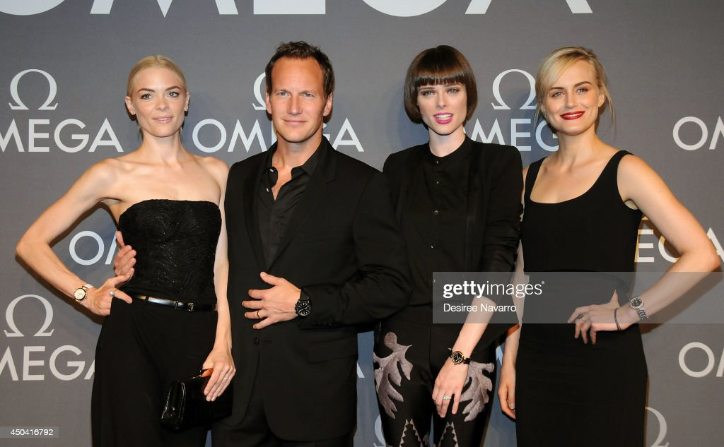 <a gi-track='captionPersonalityLinkClicked' href=/galleries/search?phrase=Jaime+King+-+Actress&family=editorial&specificpeople=206809 ng-click='$event.stopPropagation()'>Jaime King</a>, <a gi-track='captionPersonalityLinkClicked' href=/galleries/search?phrase=Patrick+Wilson+-+Actor&family=editorial&specificpeople=14726270 ng-click='$event.stopPropagation()'>Patrick Wilson</a>, <a gi-track='captionPersonalityLinkClicked' href=/galleries/search?phrase=Coco+Rocha&family=editorial&specificpeople=4172514 ng-click='$event.stopPropagation()'>Coco Rocha</a>, and <a gi-track='captionPersonalityLinkClicked' href=/galleries/search?phrase=Taylor+Schilling&family=editorial&specificpeople=5852086 ng-click='$event.stopPropagation()'>Taylor Schilling</a> attend the OMEGA Speedmaster Dark Side of the Moon launch at Cedar Lake on June 10, 2014 in New York City.