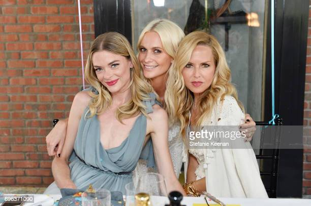 Jaime King Poppy Delevingne and Rachel Zoe attend Jo Malone London Poppy Delevingne Celebrate the Launch of 'Poptastic' at Verlaine on June 15 2017...