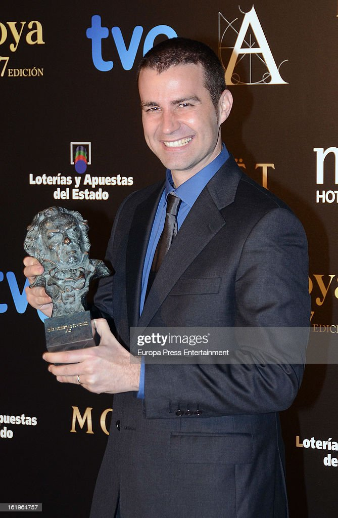 Jaime Maestro attends the official 'Goya Cinema Awards After Party' 2013 at Casino de Madrid on February 17, 2013 in Madrid, Spain.