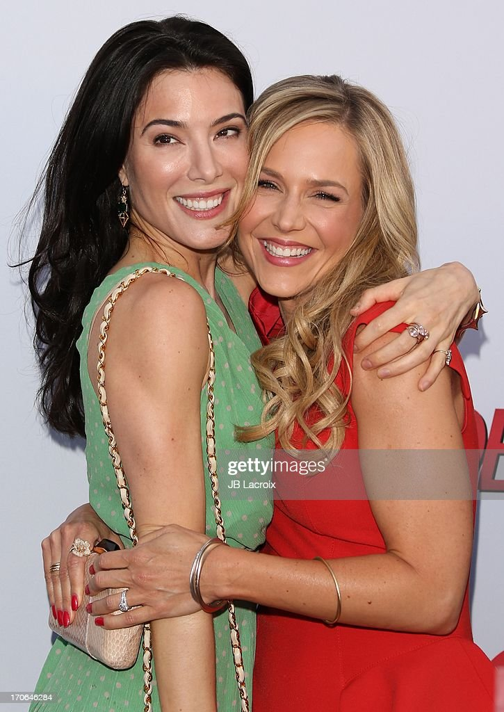 <a gi-track='captionPersonalityLinkClicked' href=/galleries/search?phrase=Jaime+Murray+-+Actress&family=editorial&specificpeople=217455 ng-click='$event.stopPropagation()'>Jaime Murray</a> and <a gi-track='captionPersonalityLinkClicked' href=/galleries/search?phrase=Julie+Benz&family=editorial&specificpeople=217554 ng-click='$event.stopPropagation()'>Julie Benz</a> attend the 'Dexter' series finale season premiere party at Milk Studios on June 15, 2013 in Hollywood, California.