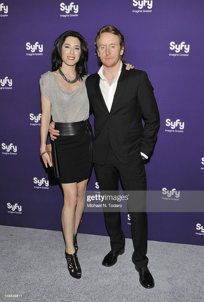 <a gi-track='captionPersonalityLinkClicked' href=/galleries/search?phrase=Jaime+Murray+-+Actress&family=editorial&specificpeople=217455 ng-click='$event.stopPropagation()'>Jaime Murray</a> and <a gi-track='captionPersonalityLinkClicked' href=/galleries/search?phrase=Tony+Curran&family=editorial&specificpeople=626484 ng-click='$event.stopPropagation()'>Tony Curran</a> attend the Syfy 2012 Upfront event at the American Museum of Natural History on April 24, 2012 in New York City.