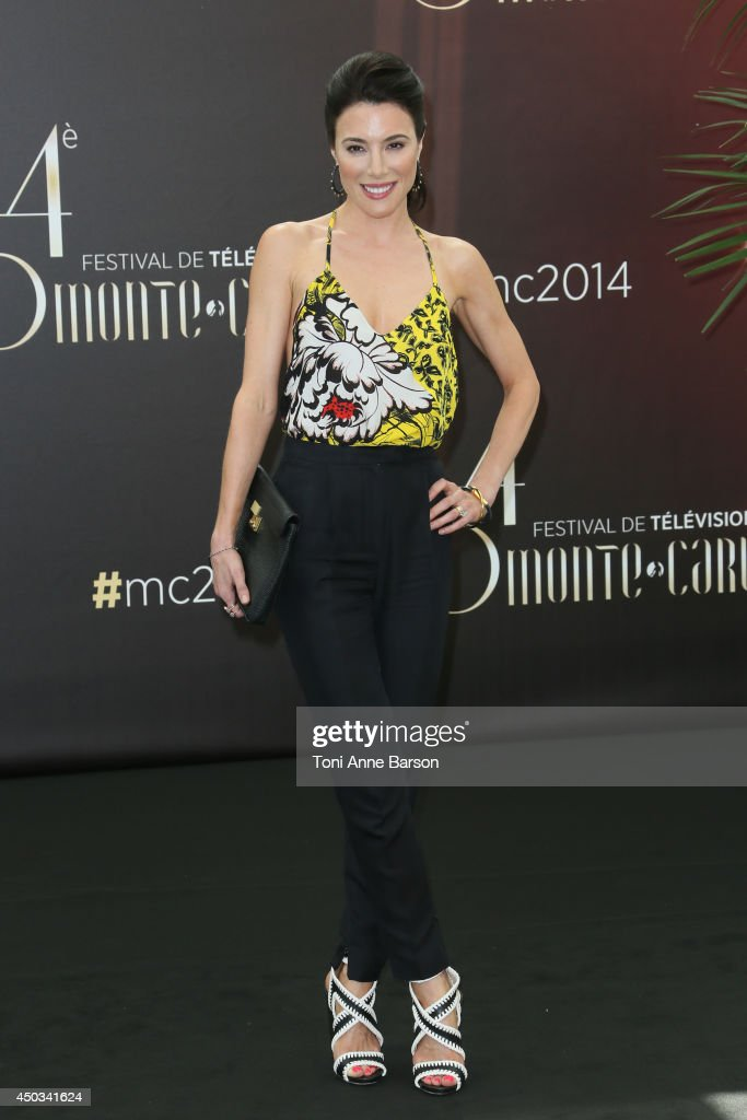 Jaime Murray attends 'Defiance' photocall at the Grimaldi Forum on June 9 2014 in MonteCarlo Monaco