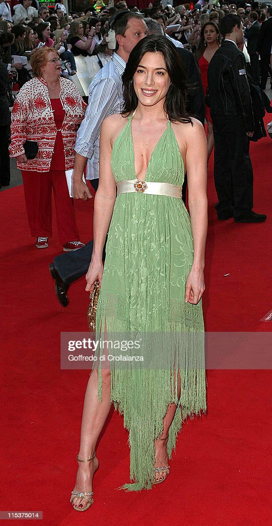 Jaime Murray during 'Kingdom of Heaven' London Premiere at Empire Leicester Square in London Great Britain