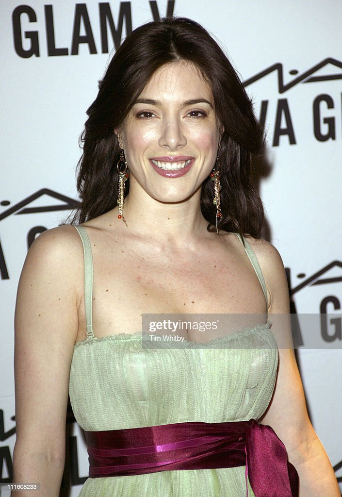 Jaime Murray during MAC AIDS Fund Viva Glam V Party at Home House in London Great Britain