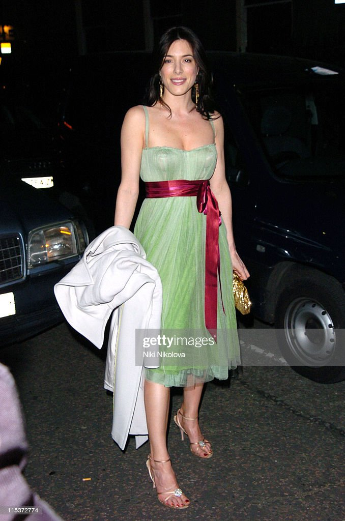 Jaime Murray during MAC VIVA GLAM V Launch Party at Home House in London Great Britain