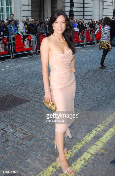 Jaime Murray during 'Volver' London Premiere Outside Arrivals at Curzon Mayfair in London Great Britain