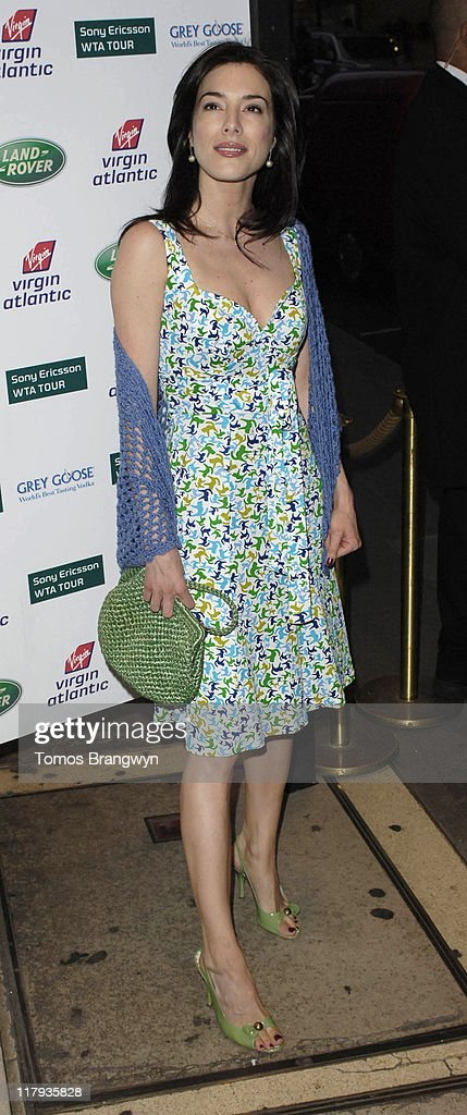 Jaime Murray during WTA – Pre Wimbledon Party Outside Arrivals at The Roof Gardens in London Great Britain