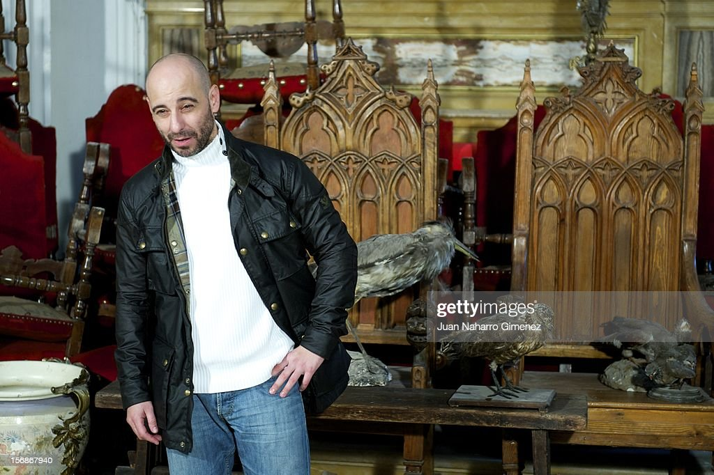 Jaime Ordonez attends 'Las Brujas de Zugarramurdi' on set filming at Palacio del Infante Don Luis on November 23, 2012 in Madrid, Spain.