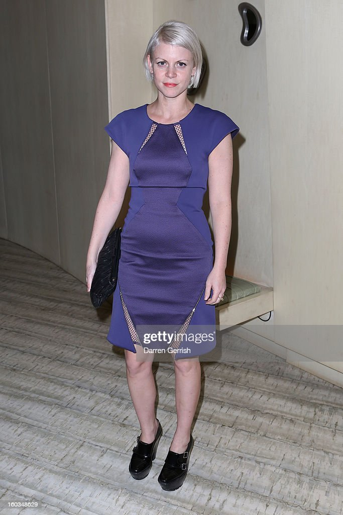 Jaime Perlman attends Nobu Berkeley during the BFC/Vogue Designer Fashion Fund - Winners Announcement on January 29, 2013 in London, England.
