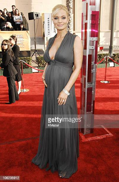 Jaime Pressly 12864_KM_0052JPG during TNT/TBS Broadcasts 13th Annual Screen Actors Guild Awards Red Carpet at Shrine Auditorium in Los Angeles...