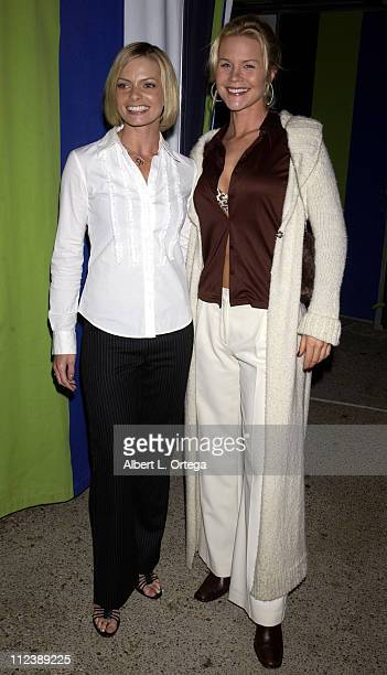 Jaime Pressly and Josie Davis during Jaime Pressly Announced as the 2002 Coors Light 'Queen of Halloween' to Benefit The St Jude Children's Research...