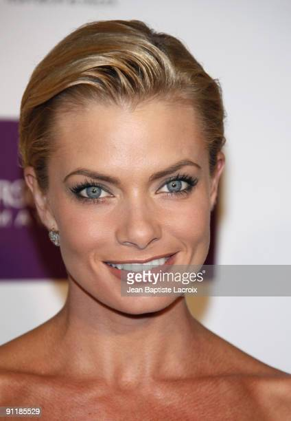 Jaime Pressly arrives at the Entertainment Weekly and Women In Film's PreEmmy Party at the Restaurant at The Sunset Marquis Hotel on September 17...