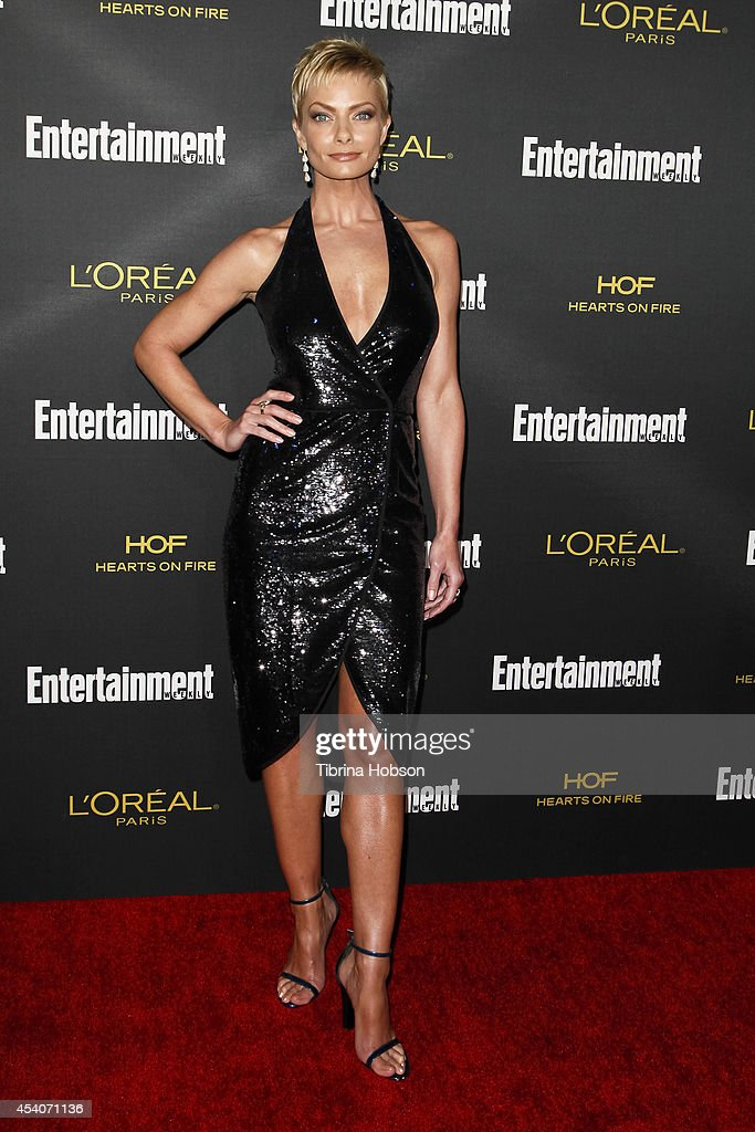 <a gi-track='captionPersonalityLinkClicked' href=/galleries/search?phrase=Jaime+Pressly&family=editorial&specificpeople=211226 ng-click='$event.stopPropagation()'>Jaime Pressly</a> attends Entertainment Weekly's Pre-Emmy party at Fig & Olive Melrose Place on August 23, 2014 in West Hollywood, California.