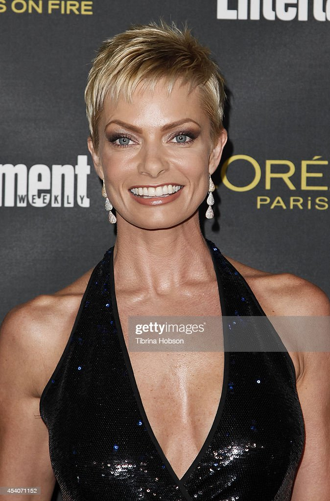 Jaime Pressly attends Entertainment Weekly's Pre-Emmy party at Fig & Olive Melrose Place on August 23, 2014 in West Hollywood, California.
