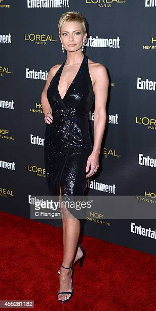 Jaime Pressly attends the 2014 Entertainment Weekly PreEmmy Party at Fig Olive Melrose Place on August 23 2014 in West Hollywood California