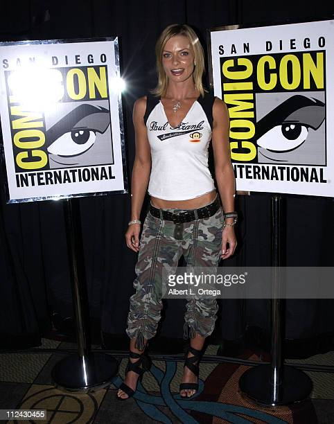 Jaime Pressly during 2003 San Diego Comic Con International Day Three at The San Diego Convention Center in San Diego California United States
