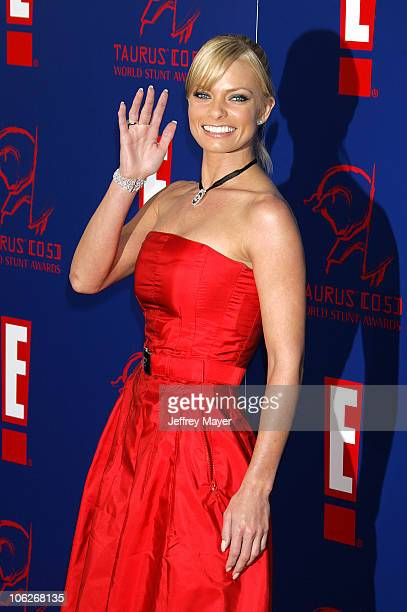 Jaime Pressly during 2005 Taurus World Stunt Awards Arrivals in Los Angeles California United States