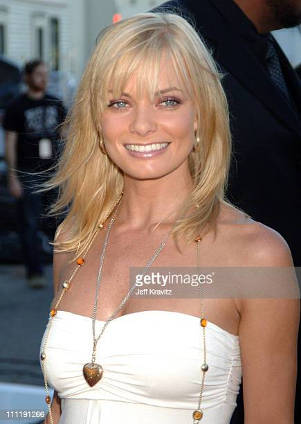 Jaime Pressly during 2006 Teen Choice Awards Arrivals at Gibson Amphitheatre in Universal City California United States