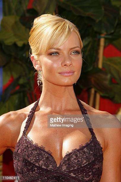 Jaime Pressly during 58th Annual Primetime Emmy Awards Arrivals at Shrine Auditorium in Los Angeles California United States