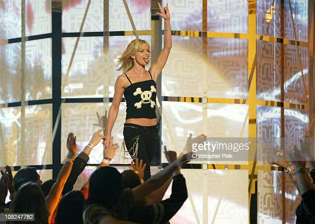 Jaime Pressly during First Annual Spike TV Video Game Awards Show and Backstage at MGM Grand Casino in Las Vegas Nevada United States