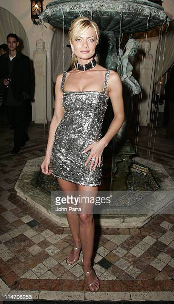 Jaime Pressly during Spa Eleven Launch Party at Casa Casaurina at Casa Casaurina in Miami Beach Florida United States